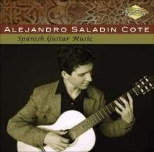 Alejandro Saladin Cote: Spanish Guitar Music, CD