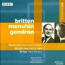 Britten/Menuhin/Gendron - Klaviertrios, CD