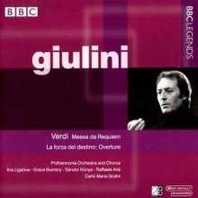 Carlo Maria Giulini dirigiert Verdi, 2 CDs