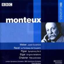 Pierre Monteux dirigiert, CD