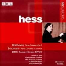 Dame Myra Hess spielt Klavierkonzerte, CD