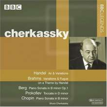 Shura Cherkassky,Klavier, CD