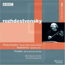Gennadi Roshdestvensky dirigiert, CD