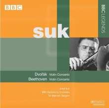 Josek Suk spielt Violinkonzerte, CD