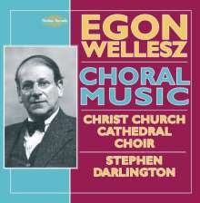 Egon Wellesz (1885-1974): Messe F-Dur op.51, CD