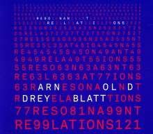 Arnold Dreyblatt: Resonant Relations, CD
