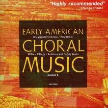 William Billings (1746-1800): Anthems & Fuging Tunes, CD
