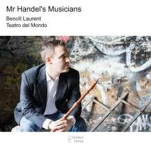 Benoit Laurent - Mr. Handel's Musicians, CD