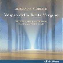 Alessandro Scarlatti (1660-1725): Vespro della Beata Vergine, CD