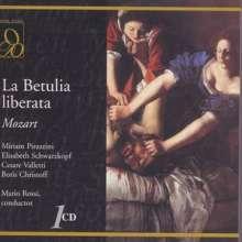 Wolfgang Amadeus Mozart (1756-1791): La Betulia Liberata, CD