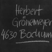 Herbert Grönemeyer: 4630 Bochum, CD