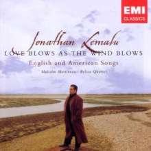 Jonathan Lemalu - Love blows as the wind blows, CD