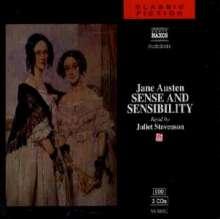 Austen,Jane:Sense and Sensibility (in engl.Spr.), 3 CDs
