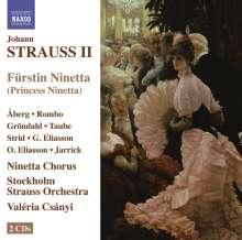 Johann Strauss II (1825-1899): Fürstin Ninetta (Operette in 3 Akten), 2 CDs