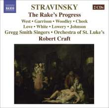 Igor Strawinsky (1882-1971): The Rake's Progress, 2 CDs