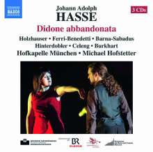 Johann Adolph Hasse (1699-1783): Didone abbandonata, 3 CDs