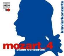 Wolfgang Amadeus Mozart (1756-1791): Naxos Mozart-Edition 4 - Klavierkonzerte, 3 CDs