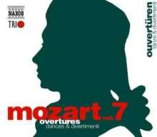 Wolfgang Amadeus Mozart (1756-1791): Naxos Mozart-Edition 7 - Ouvertüren, 3 CDs