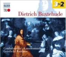 Dieterich Buxtehude (1637-1707): Cembalowerke (Naxos Trio), 3 CDs
