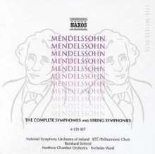 Felix Mendelssohn Bartholdy (1809-1847): Symphonien Nr.1-5, 7 CDs
