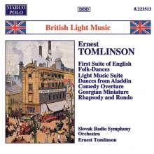 Ernest Tomlinson (geb. 1924): Orchesterwerke, CD