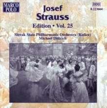 Joseph Strauss (1827-1870): Joseph Strauss Edition Vol.25, CD