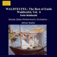 Emil Waldteufel (1837-1915): Orchesterwerke Vol.6, CD