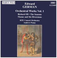 Edward German (1862-1936): Orchesterwerke Vol.1, CD