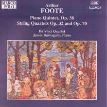 Arthur Foote (1853-1937): Klavierquintett op.38, CD