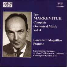 Igor Markevitch (1912-1983): Orchesterwerke Vol.4, CD