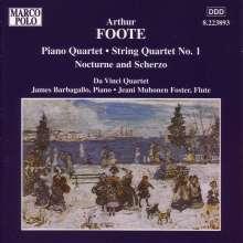 Arthur Foote (1853-1937): Streichquartett Nr.1 op.4, CD