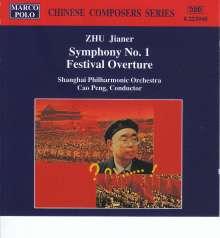 Zhu Jianer (20.Jh.): Symphonie Nr.1, CD