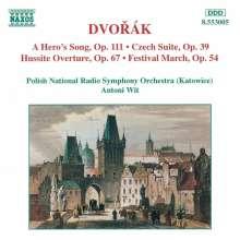 Antonin Dvorak (1841-1904): Tschechische Suite op.39, CD