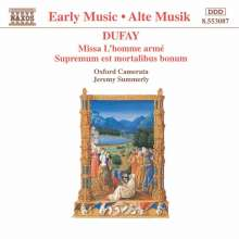 "Guillaume Dufay (1400-1474): Missa ""L'homme arme"", CD"