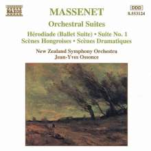Jules Massenet (1842-1912): Suiten Nr.1-3, CD