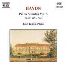 Joseph Haydn (1732-1809): Klaviersonaten H16 Nr.48-52, CD
