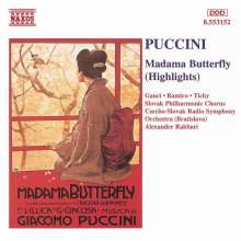 Giacomo Puccini (1858-1924): Madama Butterfly (Ausz.), CD
