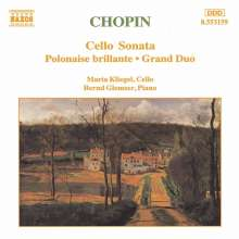 Frederic Chopin (1810-1849): Sonate für Cello & Klavier op.65, CD