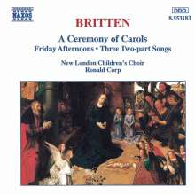 Benjamin Britten (1913-1976): A Ceremony of Carols op.28, CD
