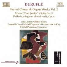 Maurice Durufle (1902-1986): Orgelwerke Vol.2, CD