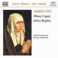 """Jakob Obrecht (1453-1505): Missa """"Salve caput"""", CD"""