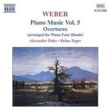 Carl Maria von Weber (1786-1826): Klavierwerke Vol.5, CD