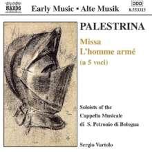 """Giovanni Perluigi da Palestrina (1525-1594): Missa """"L'Homme Arme"""", CD"""