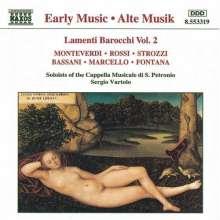 Lamenti Barocchi Vol.2, CD