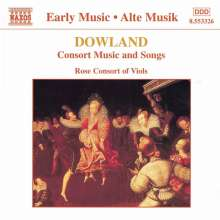 John Dowland (1562-1626): Consort Music & Songs, CD
