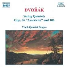 Antonin Dvorak (1841-1904): Streichquartette Vol.1, CD