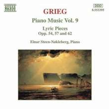Edvard Grieg (1843-1907): Klavierwerke Vol.9, CD