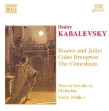 Dimitri Kabalewsky (1904-1987): Die Komödianten op.26, CD