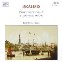 Johannes Brahms (1833-1897): 51 Übungen WoO.6, CD
