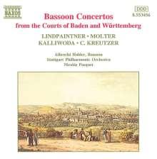 Peter Joseph von Lindpaintner (1791-1856): Fagottkonzert op.44, CD